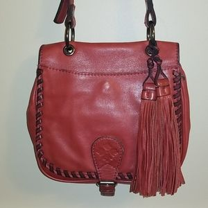 ❣EUC Vintage Patricia Nash Saddlebag Crossbody